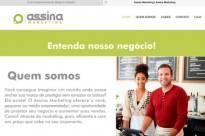 Site Assina Marketing em WordPress